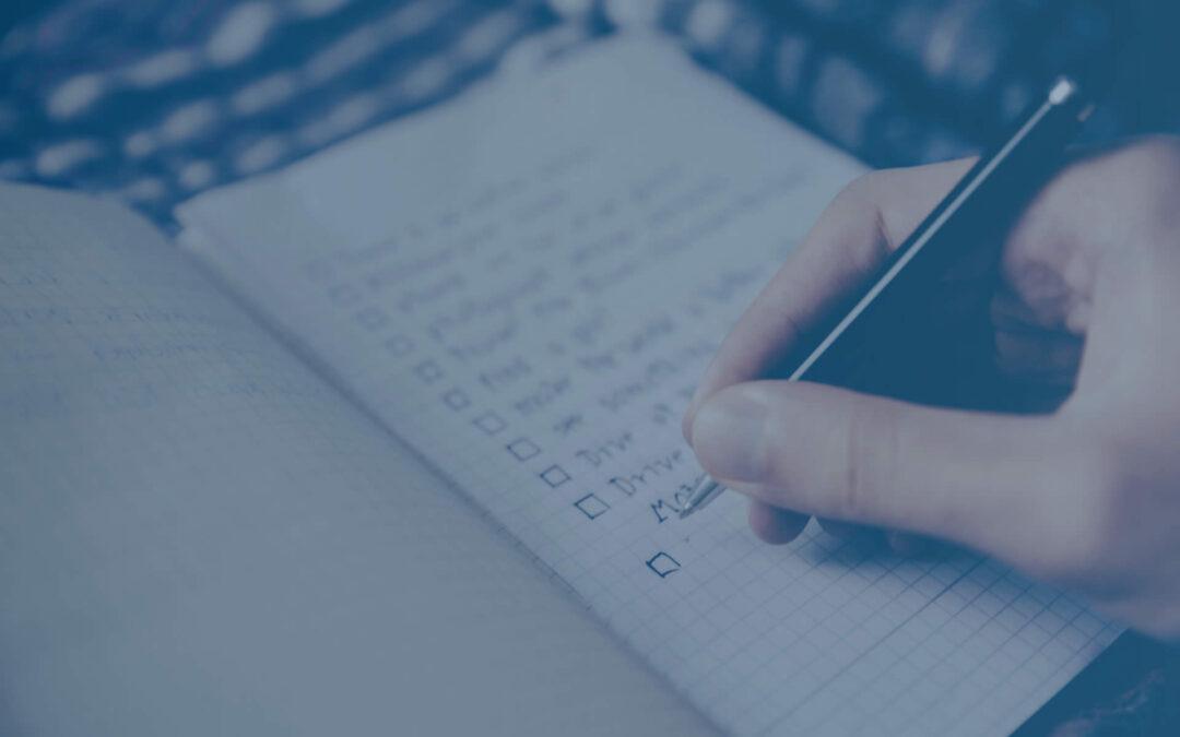 Milyen egy jó ellenőrző lista, és hogyan használd a bizniszedben?